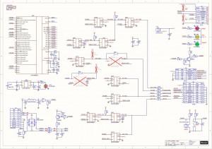ARM programmator PD-CLEP01 (CoLinkEx). Shem