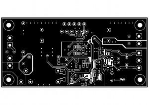 Усилитель PD-LM3886-IV2. Top слой меди.