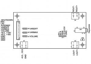 Усилитель  PD-TPA3004D. Подключение.