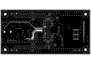 Усилитель  PD-TPA3004D. Bottom слой меди.