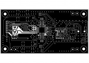 Усилитель  PD-TPA3004D. Top слой меди.
