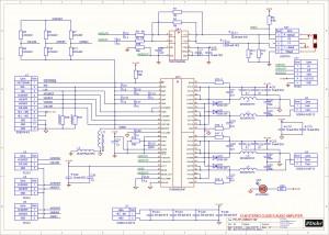 Усилитель  PD-TPA3004D. Схема.