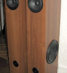 3х полосная акустическая система. Колонки собраны.